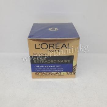 L`Oreal Paris Cream (50 g) Extraordinary oil- Night