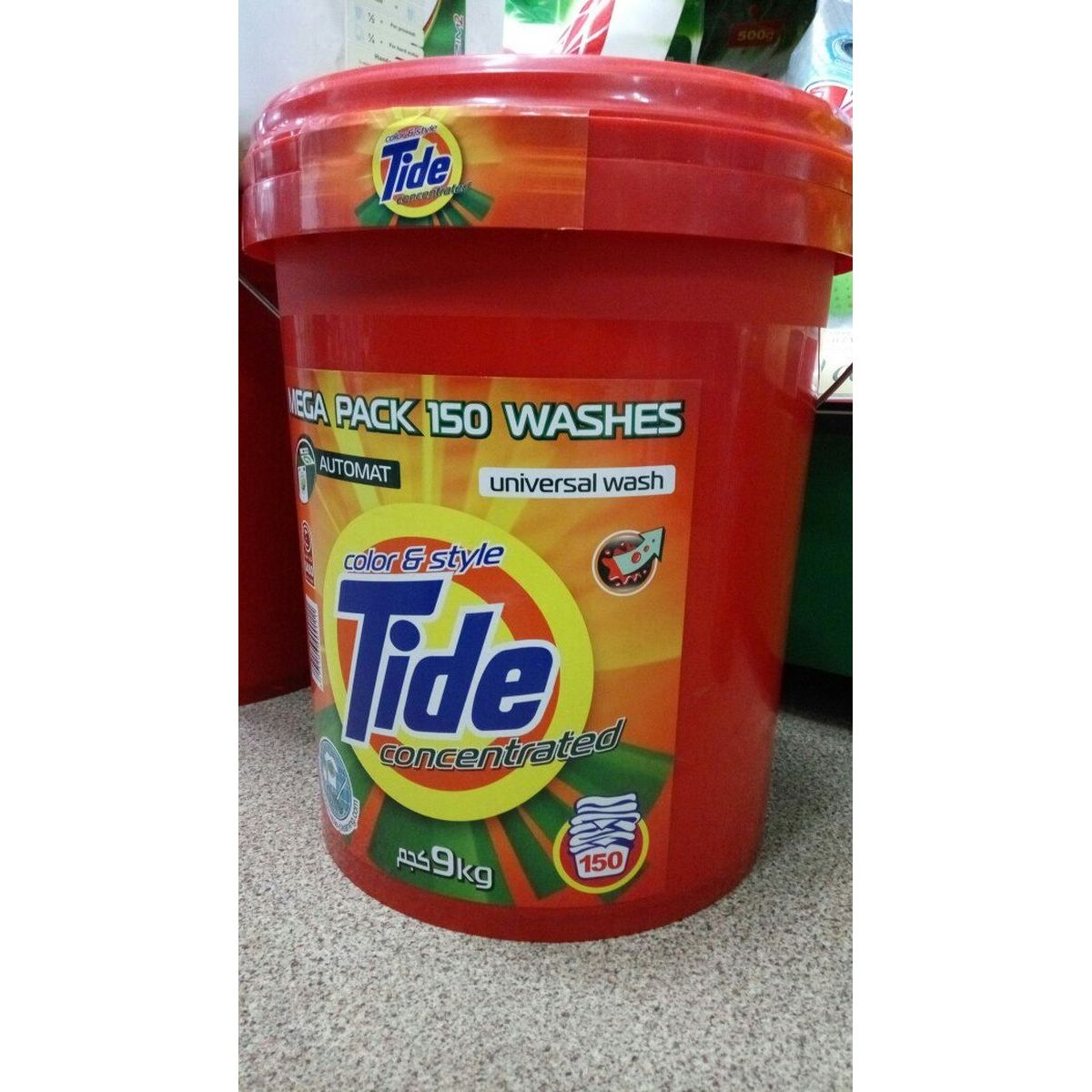"Tide 9 kg ""color & style"" (ведро)"