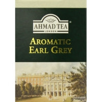 "Черный чай ""Ahmad"" 500 g. Earl Grey (New)"